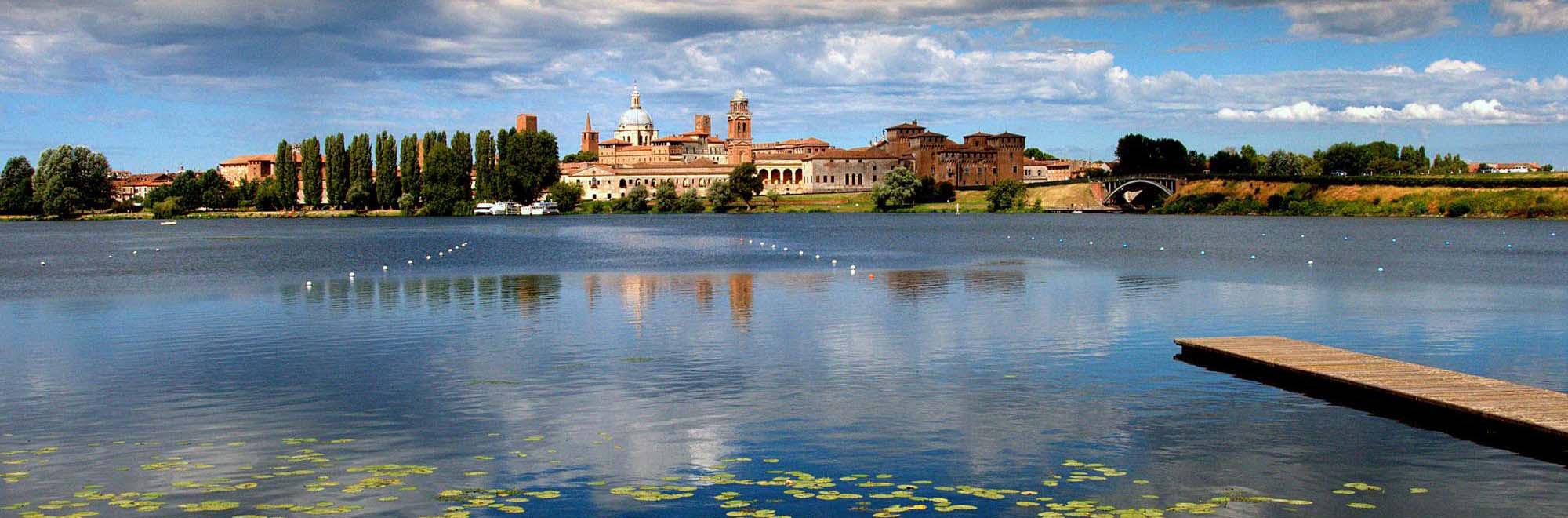 crociere fluviali Parco del Mincio e laghi di Mantova | NAVI ANDES navigazione con motonavi